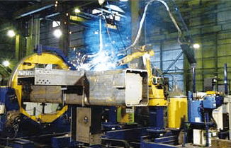 Figure 5: Welding site of REGARC™ process