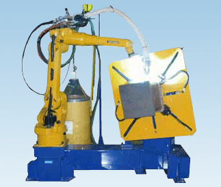 Figure 3-1: ARCMAN™ robotic welding system for column core,installing REGARC™ process