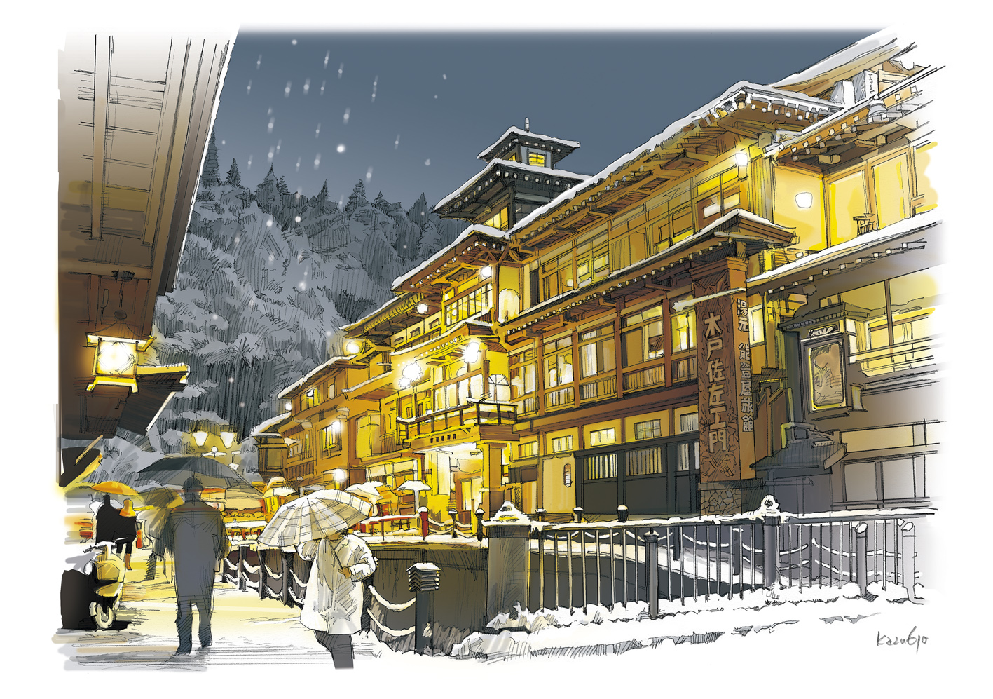 Experience the magic of the Taisho Period at Ginzan Hot Springs