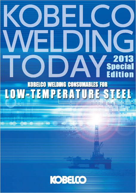 Conshumables for LOW-TEMPERATURE STEEL