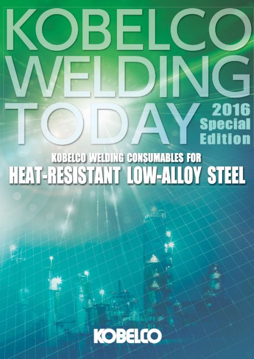 Conshumables for HEAT-RESISTANT LOW-ALLOY STEEL